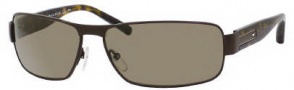 Tommy Hilfiger 1009/S Sunglasses Sunglasses - 0U0J Matte Brown / Dark Havana (DS Brown Polarized Lens)