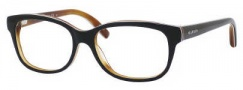 Tommy Hilfiger 1017 Eyeglasses Eyeglasses - 0UN0 Black White Horn