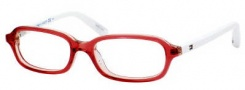 Tommy Hilfiger 1078 Eyeglasses Eyeglasses - 0W0W Red White 