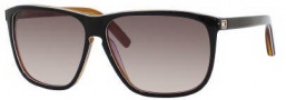 Tommy Hilfiger 1044/S Sunglasses Sunglasses - 0UNO Black White Horn (ED Brown Gradient Lens)