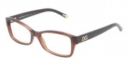 Dolce & Gabbana DG3119 Eyeglasses Eyeglasses - 2542 Transparent Brown