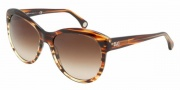D&G DD3061 Sunglasses Sunglasses - 157213 Striped Havana / Brown Gradient
