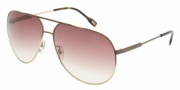 D&G DD6076 Sunglasses Sunglasses - 101813 Brown Gradient on Pale Gold / Brown Gradient