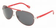 D&G DD6078 Sunglasses Sunglasses - 063/87 Silver / Red Gray
