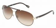 D&G DD6078 Sunglasses Sunglasses - 101813 Pale Gold Brown / Brown Gradient
