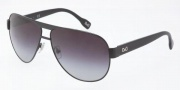 D&G DD6080 Sunglasses Sunglasses - 064/8G Black / Gray Gradient