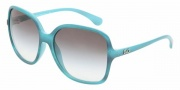 D&G DD8082 Sunglasses Sunglasses - 17838E Green Watercolor / Green Gradient