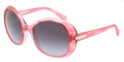 D&G DD8085 Sunglasses Sunglasses - 16808G Striped Red / Gray Gradient