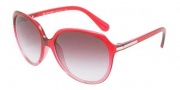 D&G DD8086 Sunglasses Sunglasses - 17858H Black Cherry Gradient / Violet Gradient