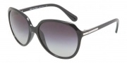 D&G DD8086 Sunglasses Sunglasses - 501/8G Black / Gray Gradient