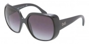 D&G DD8087 Sunglasses Sunglasses - 501/8G Black / Gray Gradient