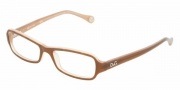 D&G DD1201 Eyeglasses Eyeglasses - 1765 Brown on Biege