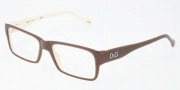 D&G DD1210 Eyeglasses Eyeglasses - 1866 Brown on Beige