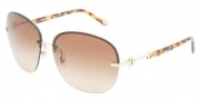 Tiffany & Co. TF3023 Sunglasses Sunglasses - 60213B Pale Gold / Brown Gradient