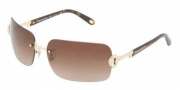 Tiffany & Co. TF3024B Sunglasses Sunglasses - 60023B Gold / Brown Gradient