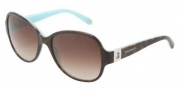 Tiffany & Co. TF4046B Sunglasses  Sunglasses - 81343B Top Havana Blue / Brown Gradient