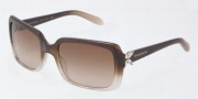 Tiffany & Co. TF4047B Sunglasses Sunglasses - 80153B Dark Havana / Brown Gradient