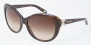 Tiffany & Co. TF4048B Sunglasses Sunglasses - 80153B Dark Havana / Brown Gradient