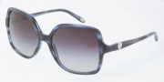 Tiffany & Co. TF4050 Sunglasses Sunglasses - 80553C Top Black on Azure / Gray Gradient