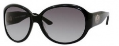 Juicy Couture The Legend/S Sunglasses Sunglasses - 0807 Black (Y7 Gray Gradient Lens)