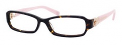Juicy Couture Posh Eyeglasses Eyeglasses - 0086 Tortoise