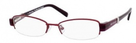 Juicy Couture Treat Eyeglasses Eyeglasses - 01D7 Burgundy Satin