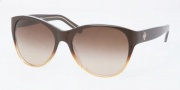 Tory Burch TY7032 Sunglasses Sunglasses - 101013 Brown Amber Fade / Brown Gradient