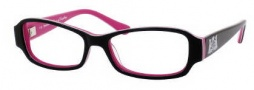 Juicy Couture Finest Eyeglasses Eyeglasses - 0JPG Black / Pink