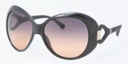 Tory Burch TY9005 Sunglasses Sunglasses - 501/95 Black / Grey Orange Fade