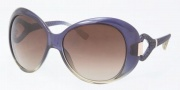 Tory Burch TY9005 Sunglasses Sunglasses - 951/13 Navy Olive Fade / Brown Gradient