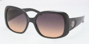 Tory Burch TY9006Q Sunglasses Sunglasses - 501/95 Black / Grey Orange Fade