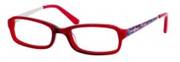 Juicy Couture Blaise Eyeglasses Eyeglasses - 02B5 Red Fade