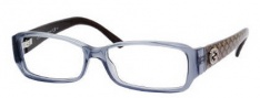 Gucci 3184 Eyeglasses Eyeglasses - 074W Blue Gray Crystal