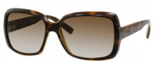 Gucci 3207/S Sunglasses Sunglasses - 0Q18 Chocolate Havana (CC Brown Gradient Lens)