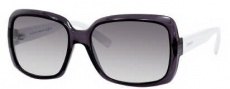 Gucci 3207/S Sunglasses Sunglasses - 09l5 Gray Transparent White (lC Gray Mirror Gradient Silver Lens)