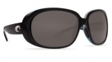 Costa Del Mar Hammock RXable Sunglasses Sunglasses - Shiny Black