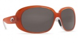 Costa Del Mar Hammock RXable Sunglasses Sunglasses - Salmon White