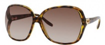 Gucci 3500/S Sunglasses Sunglasses - 0791 Havana (J6 Brown Gradient Lens)