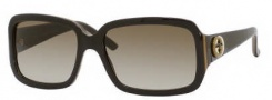 Gucci 3159/S Sunglasses Sunglasses - 0UXP Brown Gold Brown (CC Brown Gradient Lens)