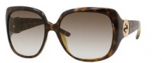 Gucci 3163/S Sunglasses Sunglasses - 0791 Havana (JS Gray Gradient Lens)