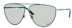 Gucci 2909/S Sunglasses Sunglasses - 0V7J India Jade Gold (NG Light Green Lens)
