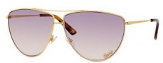 Gucci 2909/S Sunglasses Sunglasses - 0001 Yellow Gold (LP Powder Rose Lens)