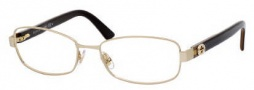 Gucci 2893 Eyeglasses Eyeglasses - 071l Gold Brown