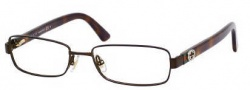 Gucci 2894 Eyeglasses Eyeglasses - 071X Dark Brown
