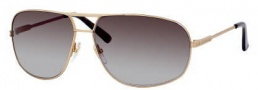 Gucci 1956 Sunglasses Sunglasses - 0009 Gold Shiny Matte (lF Brown Gradient Azure Lens)
