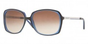 DKNY DY4072 Sunglasses Sunglasses - 349113 Havana-Blue / Brown Gradient