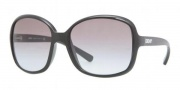 DKNY DY4076 Sunglasses Sunglasses - 329011 Black / Gray Gradient
