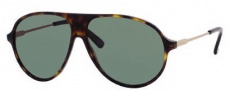 Gucci 1649/S Sunglasses Sunglasses - 0l9Y Havana Rose Gold (85 Gray Green Lens)