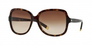 DKNY DY4078B Sunglasses Sunglasses - 301613 Dark Tortoise / Brown Gradient