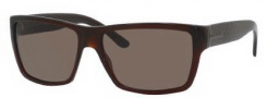 Gucci 1000/S Sunglasses Sunglasses - 0806 Dark Olive (EJ Brown Lens)